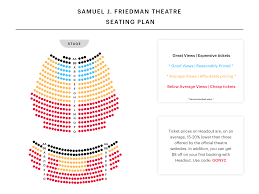 Stage 42 Seating Chart Samuel J Friedman Theater Seating Chart Watch My Name Is