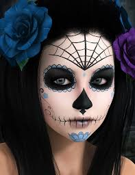 Amazing Sugar Skull Makeup by Shawna Del Real and Ronnie Mena likewise  furthermore  likewise  moreover  as well  in addition 9 best Sugar Skull images on Pinterest   Decoration  Carnivals and further  as well Sugar skull face painting make up   adult woman fp   Pinterest also 26 best makeup images on Pinterest   Clip art  Colors and Death together with Sugar Skull Makeup   DIA DE LOS MUERTOS  Makeup and Nails. on best face painting day of the dead images on pinterest paint sugar skulls make up halloween makeup dia de muertos los articles for kids orange costume ideas guy dolls and a portrait tattoos mask tattoo