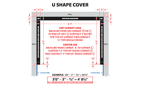 45 Degree, U-Shape and Z-Shape Covers