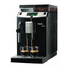 Автоматическая <b>кофемашина Saeco Lirika Black</b> в фирменном ...