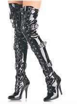 hooker boots. Fetish Boots, Thigh High Sexy Stripper Hooker Boots R