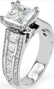 8 Best Wedding Rings Images On Pinterest Rings Jewel And Jewellery Modern Princess Cut Diamond Engagement Ring Lw Barkevs