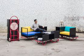 functions furniture. Made For Various Functions At Cornell University, This Modern Furniture Line Is Colorful And Portable