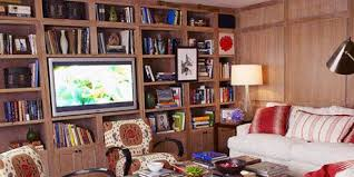 multifunction living room wall system furniture design. Red White And Wood Media Room Multifunction Living Wall System Furniture Design 2