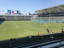La Chargers Seating Chart Dignity Health Sports Park Section 102 Los Angeles
