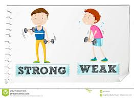 strong vs weak clipart clipartfest strong and weak royalty