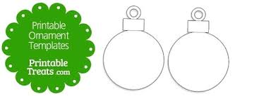 Blank Christmas Ornaments Home Decor