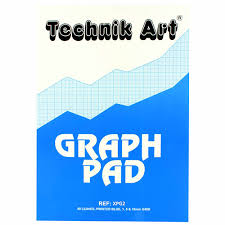 Individual Graph Paper Technik Art Graph Pad A3 1 5 10mm 40 Leaf Xpg2