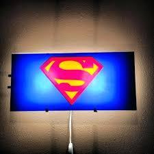 superhero wall lamps awesome light on lights