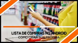 Lista De Compras Para El Supermercado Como Criar Lista De Compras Para Supermercado No Android Youtube