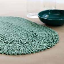 Free Crochet Placemat Patterns Unique Table Lace Placemat Red Heart