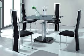 Glass Dining Table Set 4 Chairs Square Dining Table For 4 Square Dining Room Table Dining