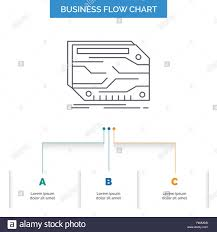 Custom Flow Chart Card Component Custom Electronic Memory Business Flow