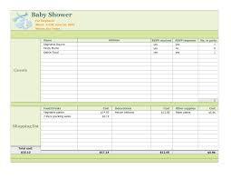 Photo Baby Shower Registry Checklist Image