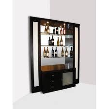 Image Mini Elite Corner Back Bar With Wine Storage Wayfair Corner Bars Bar Sets Youll Love Wayfair