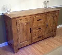 walnut cherry dining: cherry server with a special walnut stain and lacquered finish