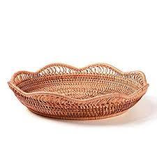 Handmade Wicker Woven Storage Basket Restaurant ... - Amazon.com