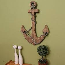 large anchor wall decor unique adeco 24 wooden boat anchor with crossbar wall decor high