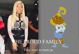 THE PROUD FAMILY They tried to warn us - Nicki Mustard - quickmeme via Relatably.com