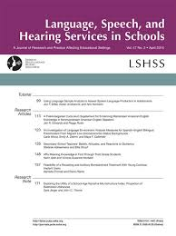 using language sample analysis to assess spoken language  using language sample analysis to assess spoken language production in adolescents language speech and hearing services in schools asha publications