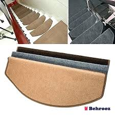 stair pads set of step carpet tread non slip adhesive rug protection protector uk