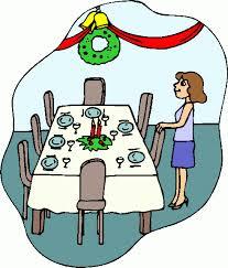 dinner table clipart. dinner table clip art clipart p