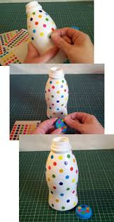 Decorated Plastic Bottles to Make and Do Plastic bottle Shaker 34