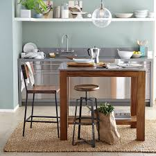 Small Picture Rustic Kitchen Island west elm