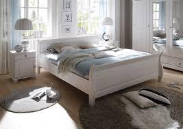 Schlafzimmer Oslo 4 Tlg In Kiefer Massiv Weiß Gewachst Möbel