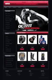 Website Design 41755 Mma Legend Athletic Custom Website