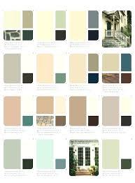 Behr Beige Color Chart Exterior House Colors Behr Paint 2018 2019 Chart Collection