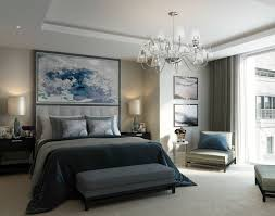 190 strand example of a trendy master bedroom design in london with carpet and gray walls bedroom furniture image13