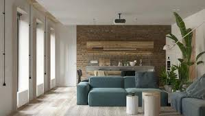 brick living room furniture. Simple Design Decor Minimalist Living Room Furniture Small Home Inspiration White Walls And Exposed Brick Go In This Couples Retreat G