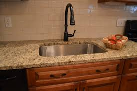 E Splendidferous Amazing Granite Tile Lowes And Single Kitchen Sink Plus  Bronze Faucet