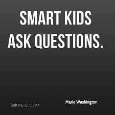 Quotes About Asking Questions Extraordinary Marie Washington Quotes QuoteHD