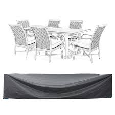 Amazon com patio furniture set covers waterproof outdoor table and chair covers durable heavy duty 110 l x 84 w x 28 h garden outdoor