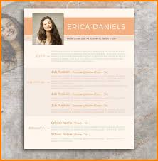 8 Contemporary Resume Templates Free Weddingsinger On The Road