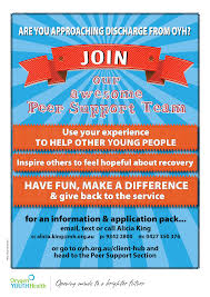 how to become a volunteer peer support worker orygen youth health how to become a volunteer peer support worker