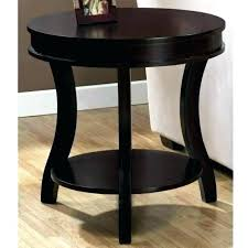 end tables with storage drawers cool round black side table storage small end tables with wer
