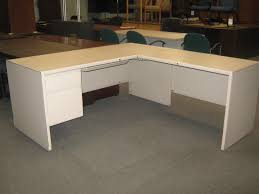 used – steelcase lshape desk broadway office