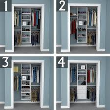 reach in closet systems. 6-foot Closet Reach In Closet Systems E