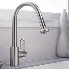 Hansgrohe Metro E High Arc Kitchen Faucet with 2 Function Pull