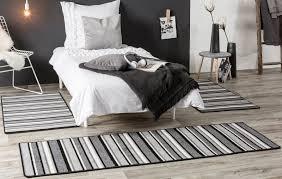 Bettumrandung Bettvorleger Schlafzimmer Kurzflor Läufer Flachflor