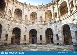 The Villa Farnese In Italian Palazzo Farnese A Mansion In