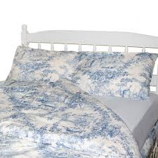 1 37631 le cau toile duvet cover set blue 2801 zoom french covers home design de