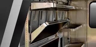 ranger design foldable van shelving