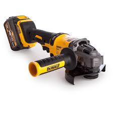 dewalt cordless grinder. dewalt dcg414t2 grinder xr flexvolt 54v cordless 125mm (2 x 6.0ah batteries) (