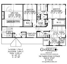 timber stone cottage house plan house plans by garrell stone house floor plans and design