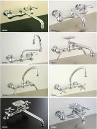Delta Wall Mount Kitchen Faucet With Spray Wall Mount Kitchen Sink