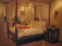Marriage Bedroom Decoration How To Decorate Room With Candles And Flowers